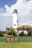 Νησί του ST George φάρων κοντά σε Apalachicola, Φλώριδα, ΗΠΑ Στοκ Φωτογραφίες