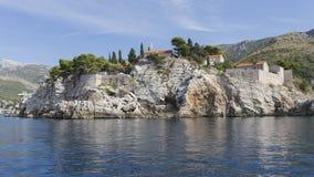 Νησί του ST Stephen ` s, Μαυροβούνιο Στοκ φωτογραφία με δικαίωμα ελεύθερης χρήσης
