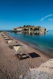 Νησί του Stefan Sveti, Budva, Μαυροβούνιο Στοκ φωτογραφία με δικαίωμα ελεύθερης χρήσης