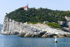 Νησί του Tino κοντά σε Portovenere Στοκ φωτογραφίες με δικαίωμα ελεύθερης χρήσης