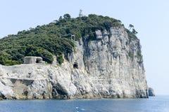 Νησί του Tino κοντά σε Portovenere Στοκ εικόνα με δικαίωμα ελεύθερης χρήσης