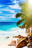 νησί τροπικό Οι Σεϋχέλλες Στοκ εικόνα με δικαίωμα ελεύθερης χρήσης