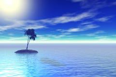 νησί τροπικό Στοκ φωτογραφία με δικαίωμα ελεύθερης χρήσης