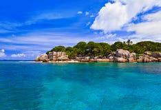 νησί τροπικό Στοκ εικόνα με δικαίωμα ελεύθερης χρήσης
