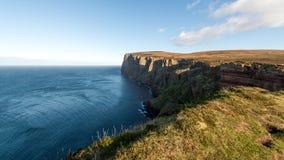 Νησί των απότομων βράχων Hoy, Orkney Στοκ φωτογραφία με δικαίωμα ελεύθερης χρήσης