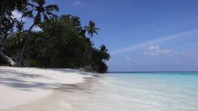 Νησί των Μαλδίβες απόθεμα βίντεο