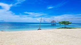 Νησί των Φιλιππινών Κεμπού pandanon στοκ εικόνα