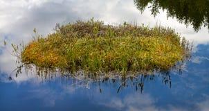 Νησί τύρφης Στοκ Φωτογραφίες