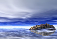 νησί φαντασίας Στοκ Εικόνες
