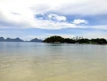 Νησί φιδιών στις Φιλιππίνες Στοκ Εικόνα