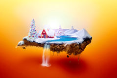 Νησί Χριστουγέννων Στοκ Εικόνες