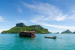 Νησί Angthong Στοκ φωτογραφία με δικαίωμα ελεύθερης χρήσης