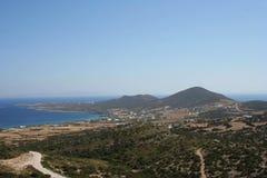 Νησί Antiparos, Αιγαίο πέλαγος στην Ελλάδα Στοκ Εικόνα