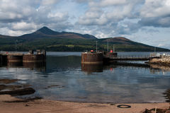 Νησί Arran Στοκ εικόνες με δικαίωμα ελεύθερης χρήσης