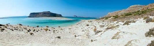 Νησί Balos. Πανόραμα. Στοκ φωτογραφία με δικαίωμα ελεύθερης χρήσης