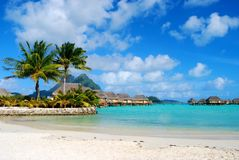Νησί Bora Bora Στοκ Φωτογραφία