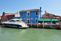 Νησί Burano στην ενετική λιμνοθάλασσα, Ιταλία Στοκ εικόνες με δικαίωμα ελεύθερης χρήσης
