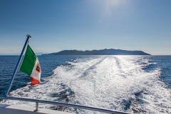 Νησί Capraia, εθνικό πάρκο Arcipelago Toscano, Τοσκάνη, Ιταλία Στοκ Εικόνα