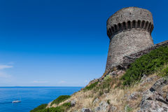 Νησί Capraia, εθνικό πάρκο Arcipelago Toscano, Τοσκάνη, Ιταλία Στοκ εικόνες με δικαίωμα ελεύθερης χρήσης