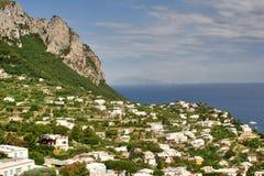 Νησί Capri, Ιταλία, Ευρώπη, κόλπος της Νάπολης, Στοκ εικόνες με δικαίωμα ελεύθερης χρήσης