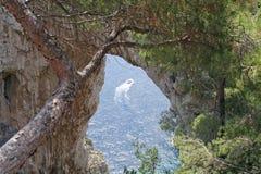 Νησί Capri, Ιταλία, Ευρώπη, κόλπος της Νάπολης, Στοκ Εικόνα