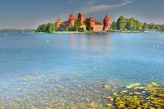 Νησί Castle Trakai Τρακάι Λιθουανία στοκ εικόνες