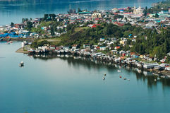 Νησί Chiloe, Χιλή Νότια Αμερική Στοκ Φωτογραφίες