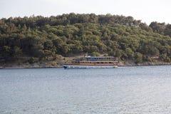 Νησί Cres στην αδριατική θάλασσα, Κροατία Στοκ Φωτογραφία