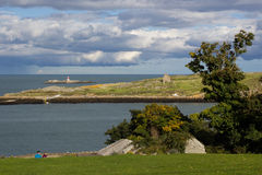 Νησί Dalkey, Ιρλανδία Στοκ φωτογραφία με δικαίωμα ελεύθερης χρήσης