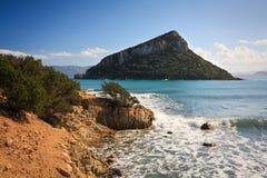 Νησί Figarolo, Σαρδηνία Στοκ εικόνα με δικαίωμα ελεύθερης χρήσης