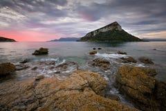Νησί Figarolo, Σαρδηνία Στοκ εικόνες με δικαίωμα ελεύθερης χρήσης