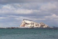 Νησί Håja, περίχωρα Tromso, Νορβηγία Στοκ φωτογραφία με δικαίωμα ελεύθερης χρήσης