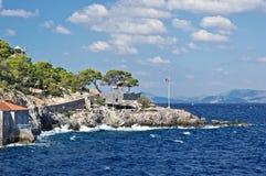 Νησί Hydra. Στοκ Εικόνα