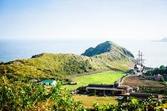 Νησί Jeju, ΚΟΡΕΑ - 12 Νοεμβρίου: Το επισκεμμένο τουρίστας Sanbanggul Στοκ Εικόνες