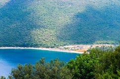 Νησί Kefalonia παραλιών Antisamos, Ελλάδα Στοκ Εικόνα