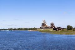 Νησί Kizhi στη Ρωσία Στοκ φωτογραφία με δικαίωμα ελεύθερης χρήσης