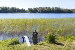 Νησί Kizhi στη Ρωσία Στοκ εικόνα με δικαίωμα ελεύθερης χρήσης
