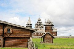 Νησί Kizhi Στοκ φωτογραφίες με δικαίωμα ελεύθερης χρήσης