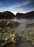 Νησί Labuan ηλιοβασιλέματος Στοκ φωτογραφία με δικαίωμα ελεύθερης χρήσης