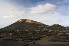 Νησί Lanzarote Στοκ εικόνα με δικαίωμα ελεύθερης χρήσης