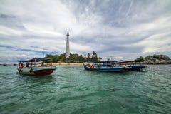 Νησί Lengkuas Στοκ Φωτογραφίες