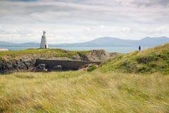 Νησί Llanddwyn, Anglesey, Gwynedd, βόρεια Ουαλία, UK Στοκ φωτογραφία με δικαίωμα ελεύθερης χρήσης