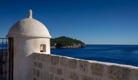 Νησί Lokrum σε Dubrovnik, Κροατία στοκ εικόνες με δικαίωμα ελεύθερης χρήσης