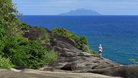 Νησί Mahe, Σεϋχέλλες Στοκ Εικόνες