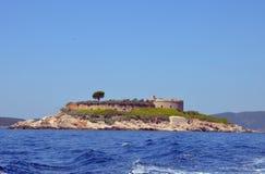 Νησί Mamula, Μαυροβούνιο Στοκ εικόνα με δικαίωμα ελεύθερης χρήσης