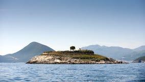 Νησί Mamula Στοκ φωτογραφίες με δικαίωμα ελεύθερης χρήσης