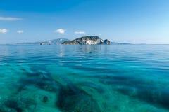 Νησί Marathonisi, Zante Στοκ εικόνες με δικαίωμα ελεύθερης χρήσης