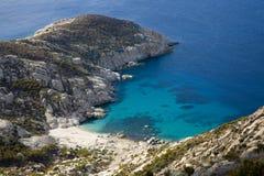 Νησί Montecristo Στοκ Φωτογραφίες