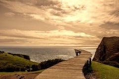 Νησί ` Muelle de las Almas ` Chiloe στοκ εικόνα με δικαίωμα ελεύθερης χρήσης