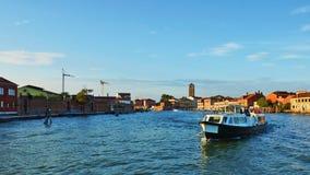 Νησί Murano στη Βενετία, Ιταλία Στοκ Φωτογραφία